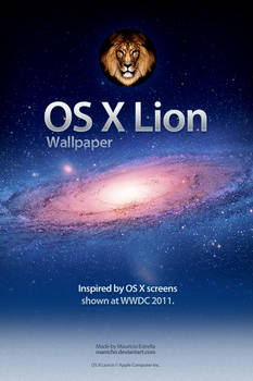 Mac OS X Lion Wallpaper