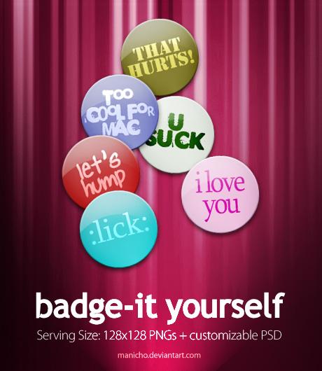 Badge-it Yourself