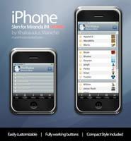 Miranda iPhone skin - Updated by mauricioestrella