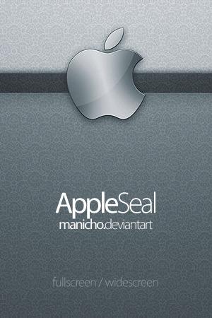 Apple Seal Wallpaper Pack