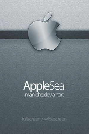 Apple Seal Wallpaper Pack by mauricioestrella