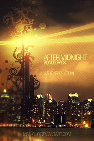 After Midnight Wallpaper by mauricioestrella