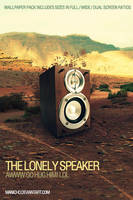 The Lonely Speaker by mauricioestrella