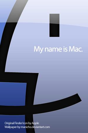 My name is Mac by mauricioestrella