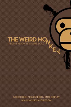 The Weird Monkey By Mauricioestrella