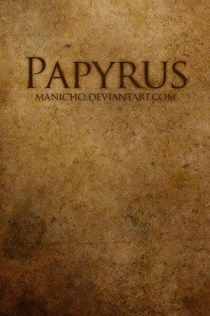 Papyrus by mauricioestrella