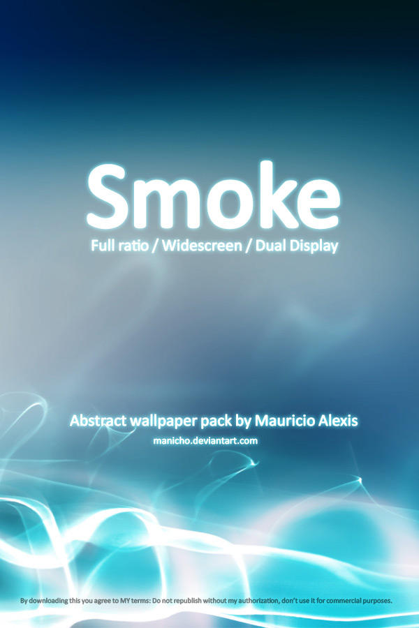 Smoke Wallpack by mauricioestrella