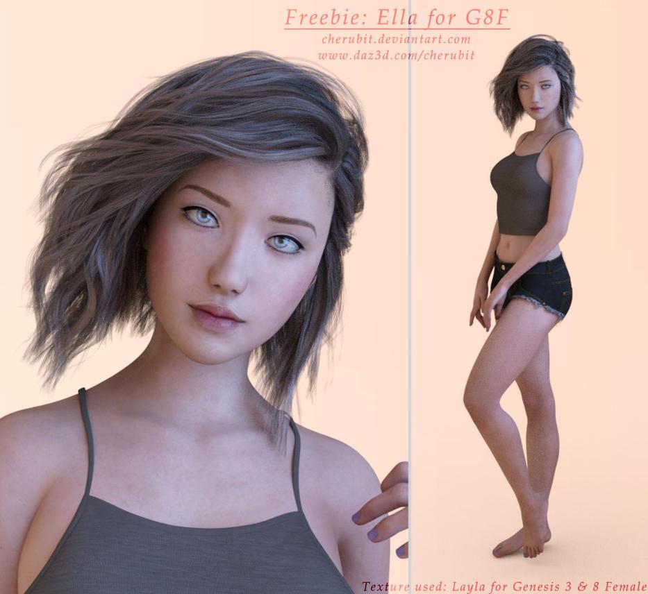 Freebie: Ella for G8F by Cherubit