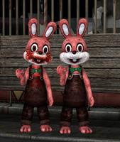 Robbie the Rabbit retexture (download) by Mageflower