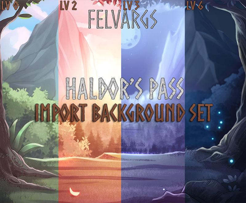 Import Background Set: Haldor's Pass