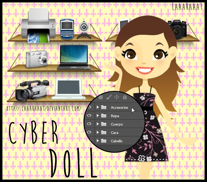 +Cyber Doll by laaaraaa1