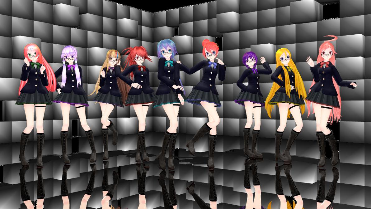 db688ac7bb MMD] TDA School girls (x9 models Pack) DL by Reineru-kun on DeviantArt