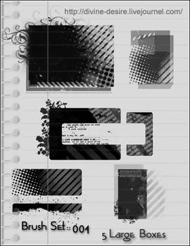 PS7 brushes grunge boxes