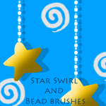 Brushes: Star Beads and Swirl by Zorci