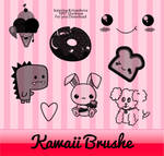 Kawaii Brushes for photoshop
