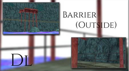 MMD Outside The Barrier DL by leaopardheart