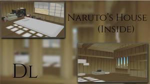 MMD Naruto House (Inside) DL