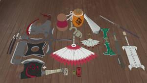 MMD Custom Weapons DL