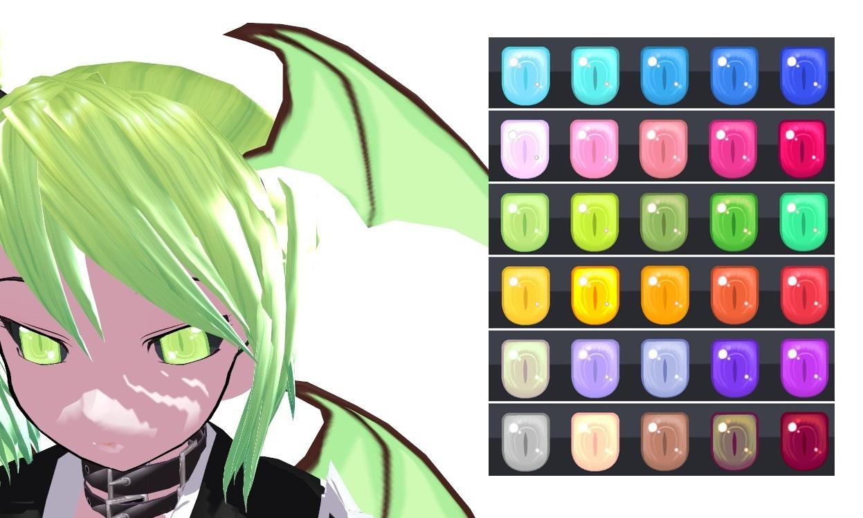 MMD Demon Eye Texture by Xoriu on DeviantArt