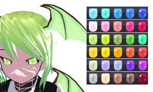 MMD Demon Eye Texture by Xoriu