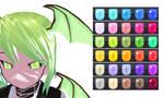 MMD Demon Eye Texture