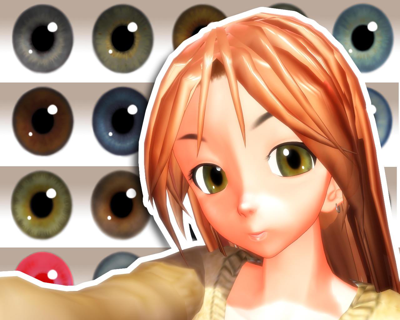 MMD Naturae Eye Texture by Xoriu