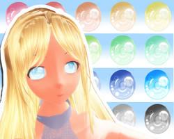 MMD Dream Eye Texture by Xoriu