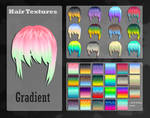 MMD Gradient Hair Texture