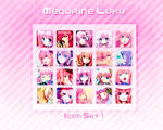 Megurine Luka Icon Set 1