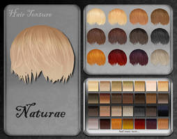 MMD Naturae Hair Texture by Xoriu