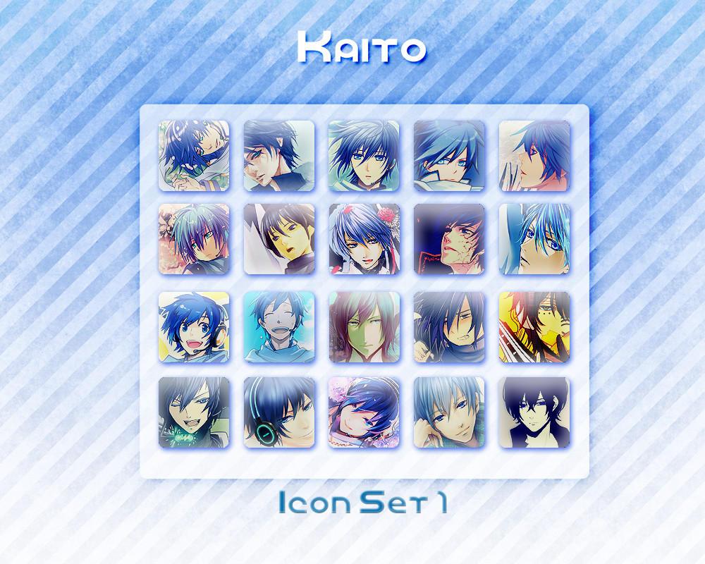 Kaito Icon Set 1
