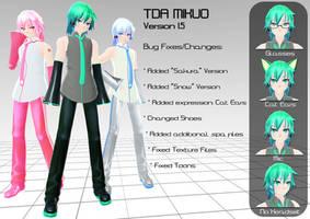 TDA Mikuo DL (including Sakura and Snow) by Xoriu