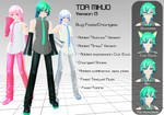 TDA Mikuo DL (including Sakura and Snow)