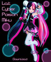 Lat Cyber Poison Miku DL by Xoriu