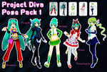 Project Diva Pose Pack 1