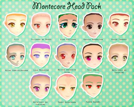 Montecore Head Pack DL by Xoriu