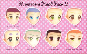 Montecore Head Pack 2 DL by Xoriu