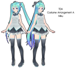 TDA Costume Arrangement A Miku DL