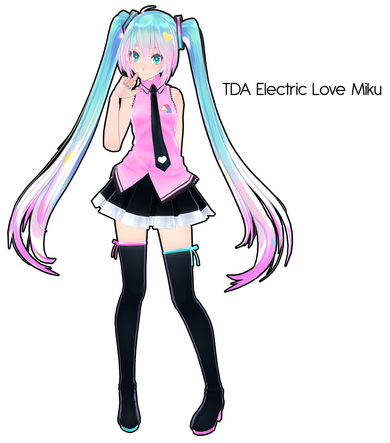 TDA Electric Love Miku DL By Xoriu On DeviantArt