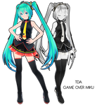 TDA GAME OVER Miku DL