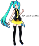 TDA Melody Line Miku DL