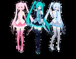 TDA Miku Trio DL