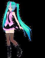 TDA Electric Love Miku -Wakamura Version- DL by Xoriu