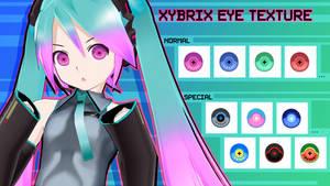 MMD Xybrix Eye Texture