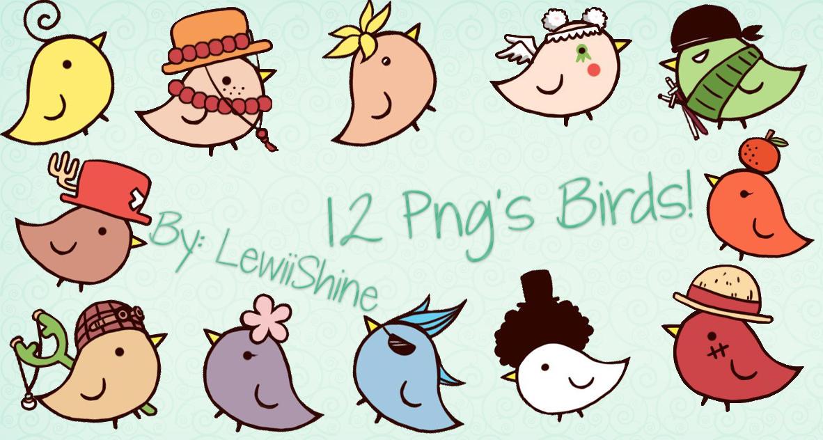 Png's Birds By: LewiiShine by LewiiShine
