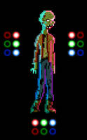 Pixel Zombie w/ Dynamic Lighting