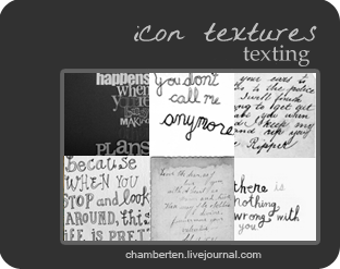 Texting by chambertin