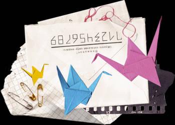 Paper Crane by chambertin