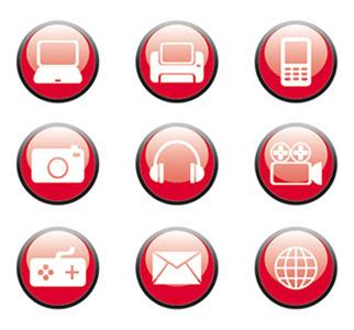 Digital Age Icons by kmen