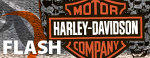 Harley Davidson flash ad